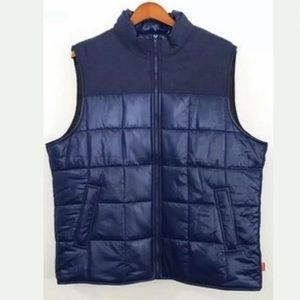 NEW Coleman Quilted Navy Blue Full Zip Puffer Vest